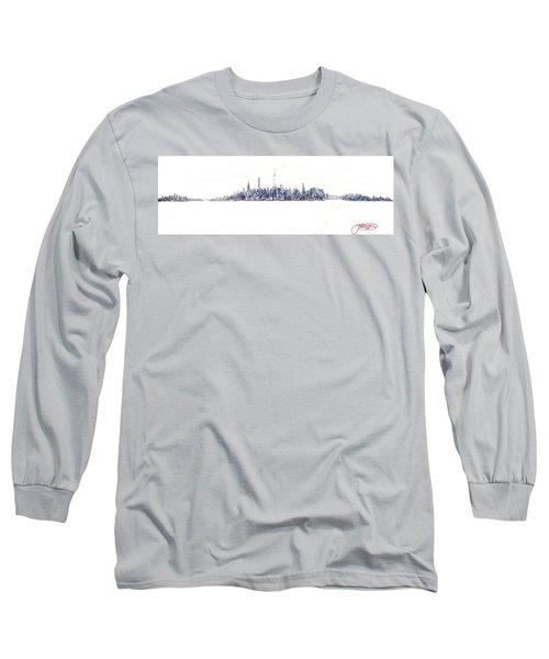 A New Year In Manhattan Long Sleeve T-Shirt
