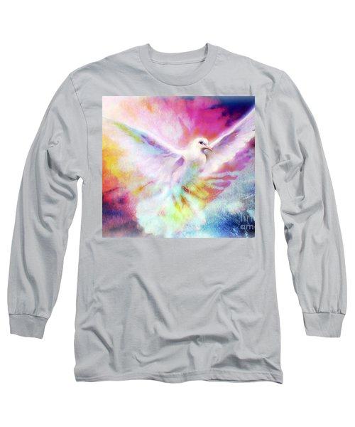 A Peace Dove Long Sleeve T-Shirt