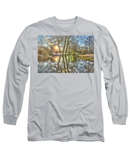 A Pond In Rotterdam Long Sleeve T-Shirt