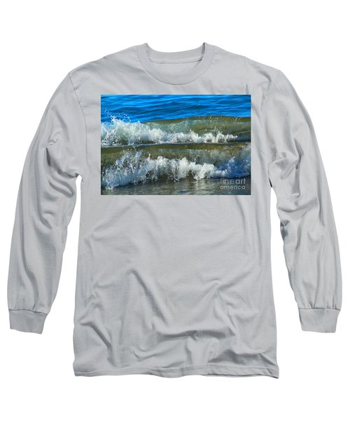 A Race For Non-existence, Point Reyes National Seashore, Marin C Long Sleeve T-Shirt by Wernher Krutein