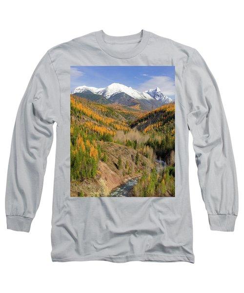 A River Runs Through It Long Sleeve T-Shirt by Jack Bell