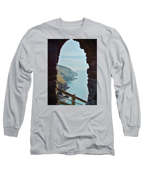 A Room With A View Long Sleeve T-Shirt by Richard Brookes