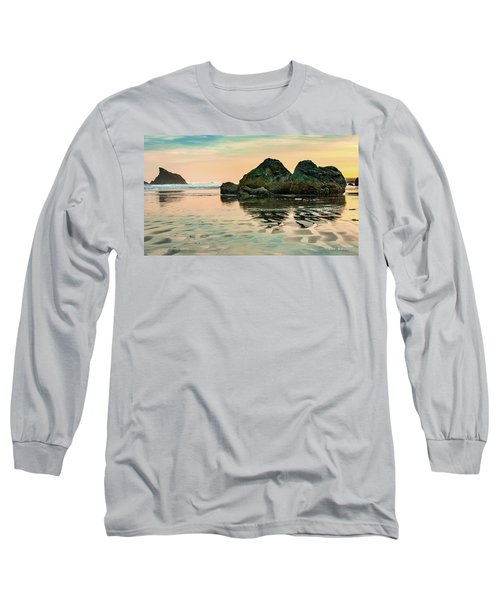 A Scene From The Beach Long Sleeve T-Shirt