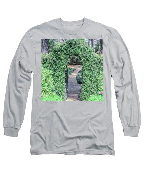A Secret Doorway Long Sleeve T-Shirt