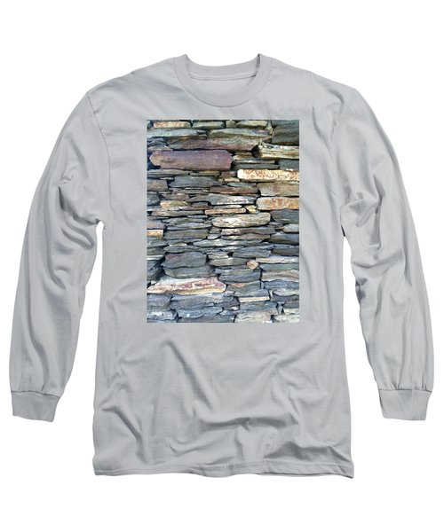 A Stone's Throw Long Sleeve T-Shirt by Angela Annas