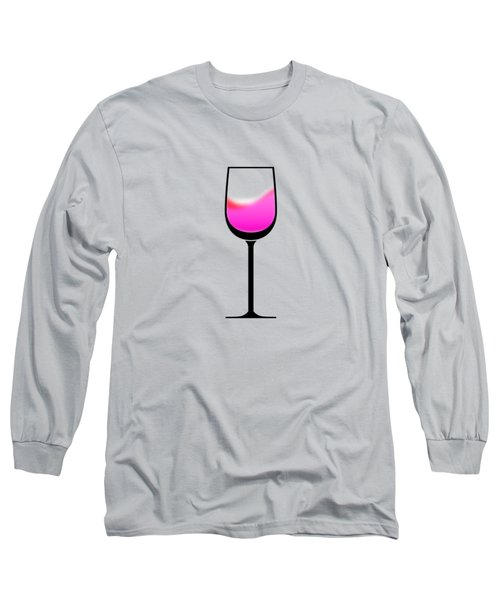 A Touch Of Wine Long Sleeve T-Shirt