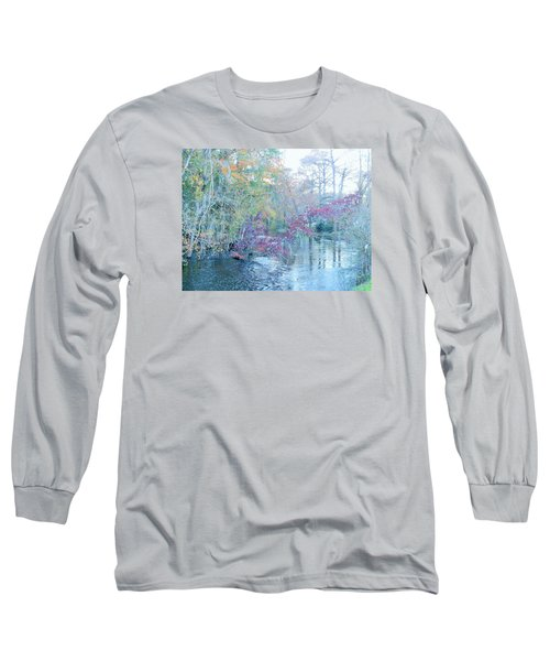 A View Of Autumn Long Sleeve T-Shirt by Kay Gilley