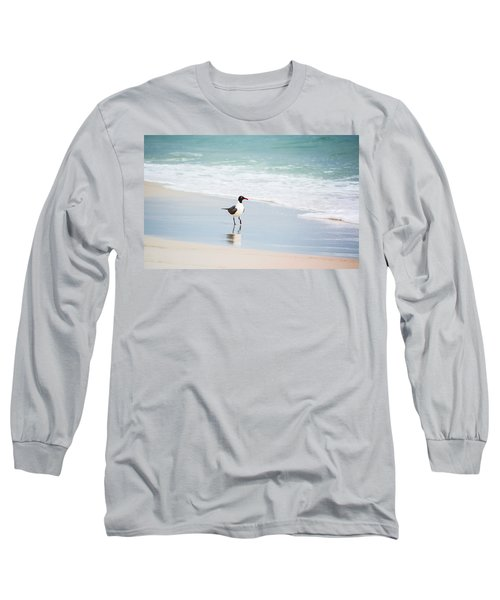A Walk On The Beach Long Sleeve T-Shirt by Shelby  Young