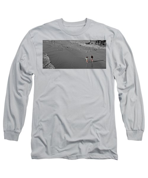 A Walk On The Beach With Dad Long Sleeve T-Shirt