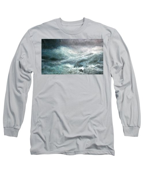 a wave my way by Jarko Long Sleeve T-Shirt