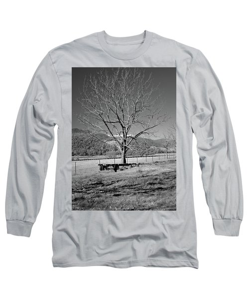 A Wintery Stand Long Sleeve T-Shirt