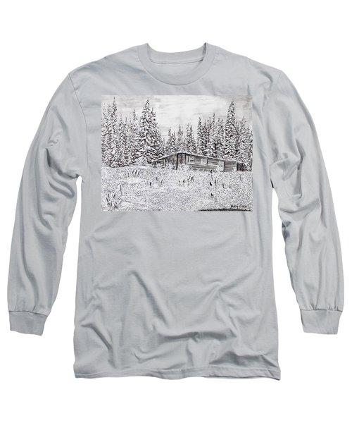 Abandoned Cabin Long Sleeve T-Shirt