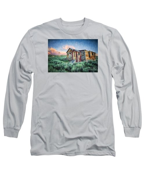 Abandoned In America Long Sleeve T-Shirt