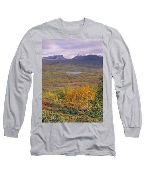 Abisko Nationalpark Long Sleeve T-Shirt by Thomas M Pikolin