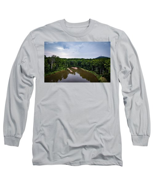 Above The Lake Long Sleeve T-Shirt