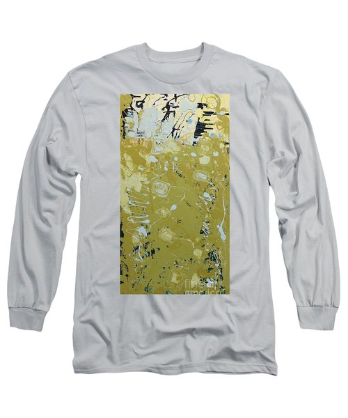 Abstract 1014 Long Sleeve T-Shirt by Gallery Messina