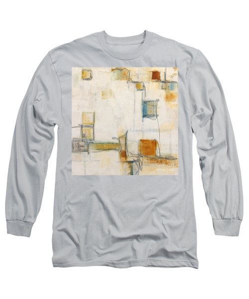 Abstract 1207 Long Sleeve T-Shirt by Gallery Messina
