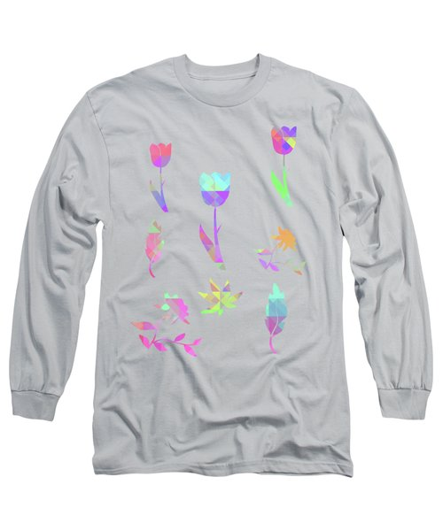 Abstract 433 Long Sleeve T-Shirt