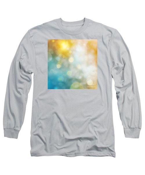 Abstract Bokeh Long Sleeve T-Shirt