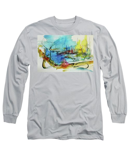 Abstract Landscape #1 Long Sleeve T-Shirt