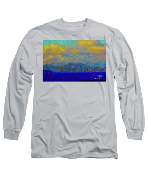 Abstract Landscape Expressions Long Sleeve T-Shirt