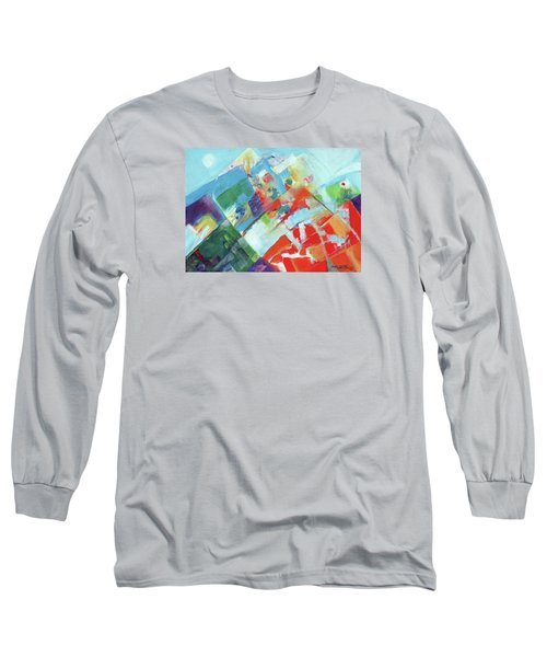 Abstract Landscape1 Long Sleeve T-Shirt