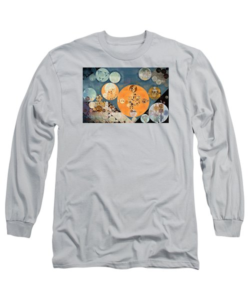 Abstract Painting - Shuttle Grey Long Sleeve T-Shirt
