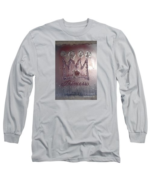 Abstract Princess Dreams Of Grandeur Long Sleeve T-Shirt by Talisa Hartley