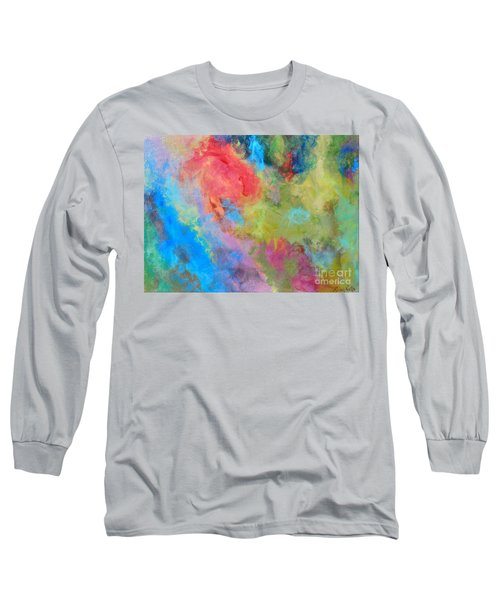 Abstract Long Sleeve T-Shirt by Reina Resto