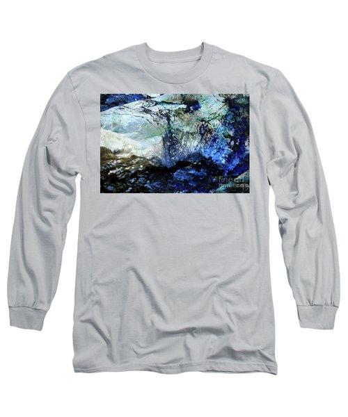 Abstract Runoff Long Sleeve T-Shirt