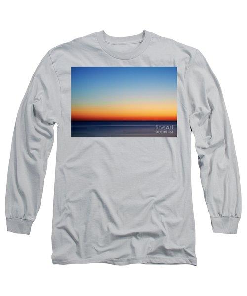 Abstract Sky Long Sleeve T-Shirt by Tony Cordoza