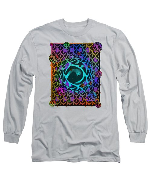 Long Sleeve T-Shirt featuring the digital art Abstract - The Fabric Of Life by Glenn McCarthy Art and Photography