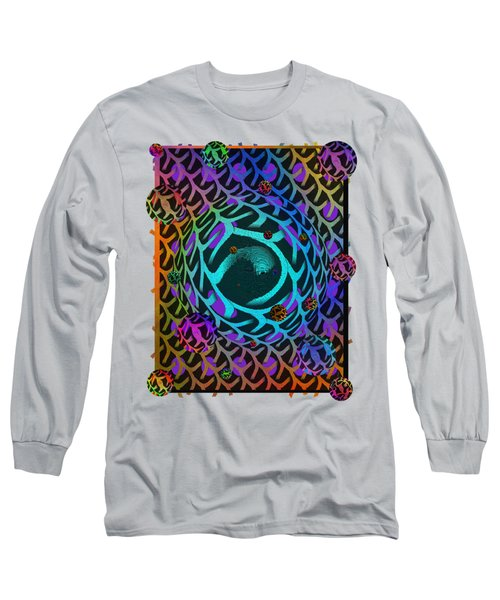 Abstract - The Fabric Of Life Long Sleeve T-Shirt