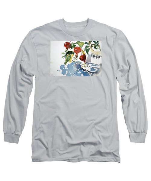 Abstract Vegetables 2 Long Sleeve T-Shirt
