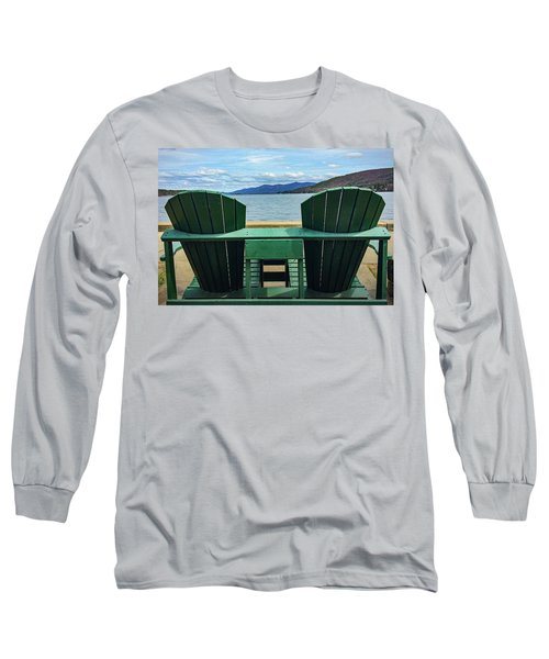 Adirondack Chair For Two Long Sleeve T-Shirt