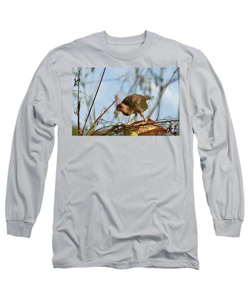 Adolescent Purple Gallinule Long Sleeve T-Shirt