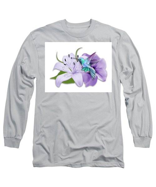 Long Sleeve T-Shirt featuring the mixed media Aeronautical by Marvin Blaine