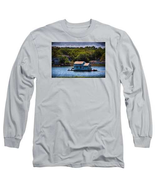 Afloat Long Sleeve T-Shirt by Tricia Marchlik