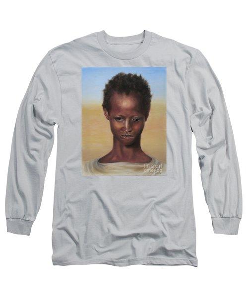 Africa Long Sleeve T-Shirt by Annemeet Hasidi- van der Leij