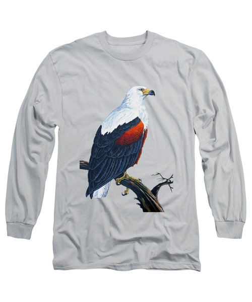 African Fish Eagle Long Sleeve T-Shirt
