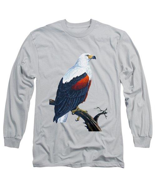 African Fish Eagle Long Sleeve T-Shirt