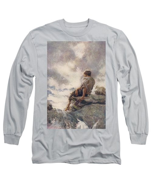 After Being Shipwrecked Robinson Crusoe Long Sleeve T-Shirt