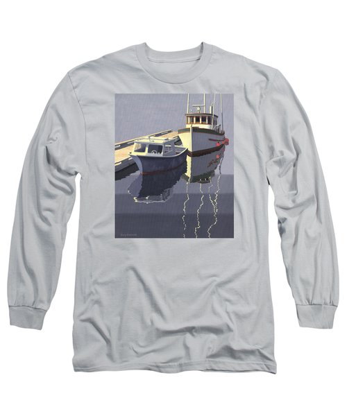Long Sleeve T-Shirt featuring the painting After The Rain by Gary Giacomelli