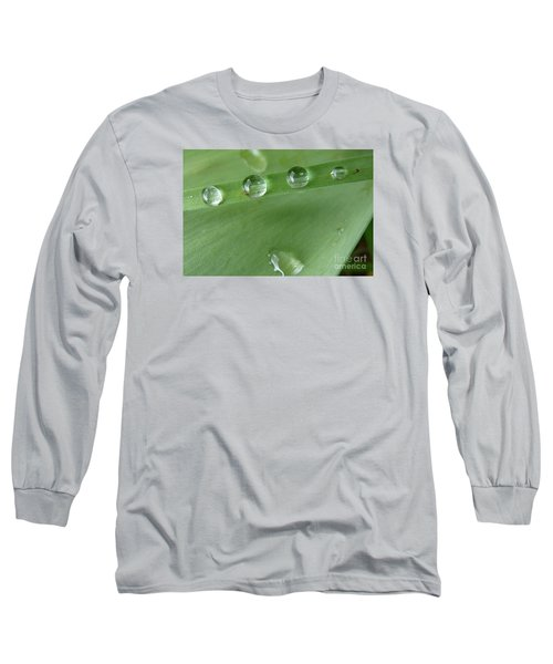 Long Sleeve T-Shirt featuring the photograph After The Rain by Jean Bernard Roussilhe