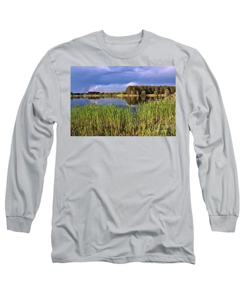 After The Rain Poetry Long Sleeve T-Shirt