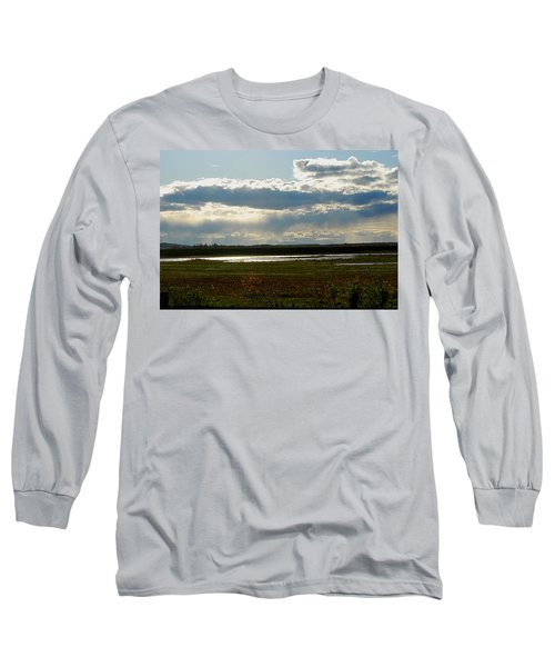 After The Storm Long Sleeve T-Shirt by Nancy Landry
