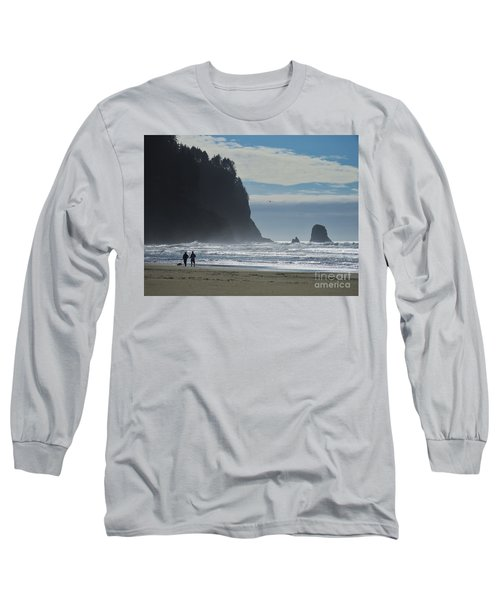 Cape Meares Long Sleeve T-Shirt by Michele Penner