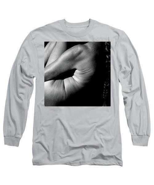 Long Sleeve T-Shirt featuring the photograph Aging Beauty by Nancy Taylor