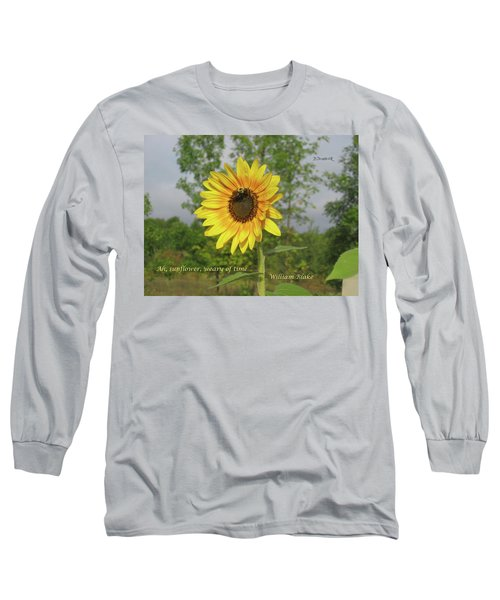 Ah, Sunflower Long Sleeve T-Shirt