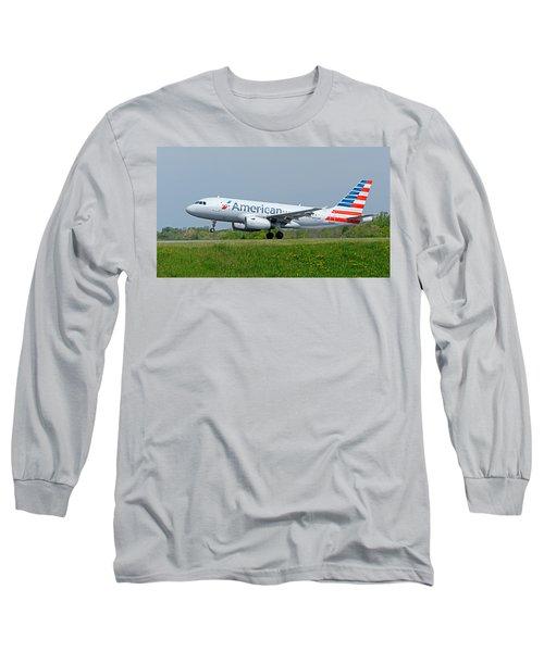 Airbus A319 Long Sleeve T-Shirt